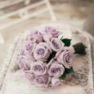 Lilla pastello per il real wedding di Francesca e Alfredo